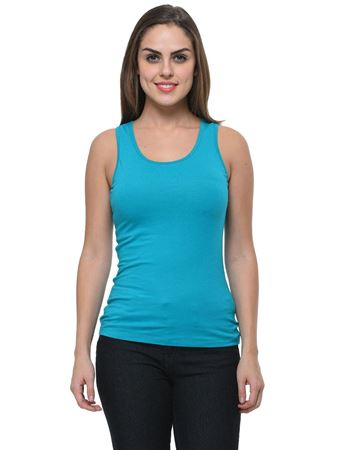 frenchtrendz-cotton-spandex-turq-tank-top