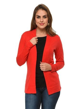 frenchtrendz-cotton-red-shrug
