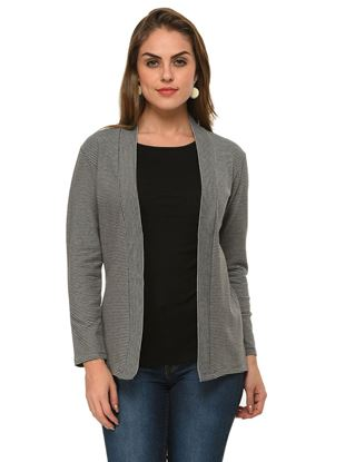 frenchtrendz-cotton-spandex-fleece-black-grey-winter-shrug