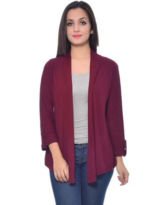 frenchtrendz-viscose-crepe-dark-maroon-shrug