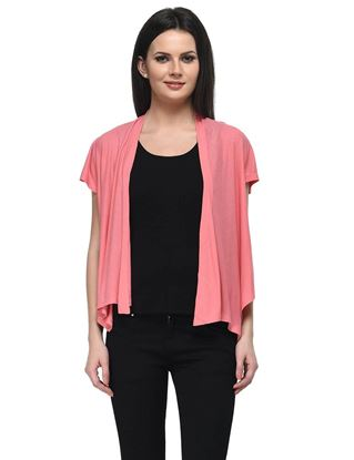 frenchtrendz-viscose-crepe-frill-coral-shrug