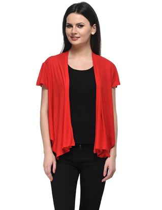 frenchtrendz-viscose-crepe-frill-red-shrug