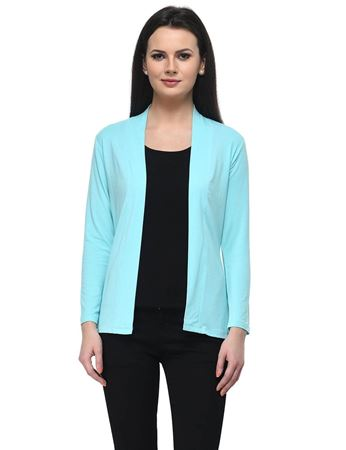 frenchtrendz-viscose-spandex-aqua-medium-length-shrug