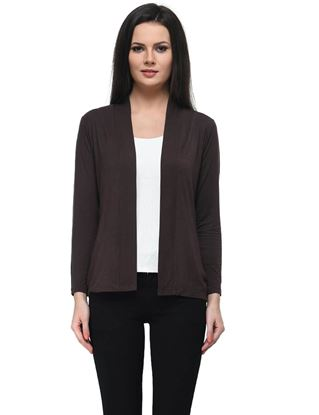 frenchtrendz-viscose-spandex-chocolate-medium-length-shrug