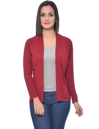 frenchtrendz-viscose-spandex-maroon-medium-length-shrug