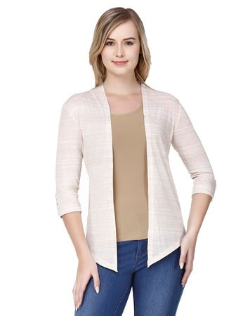 Picture of Frenchtrendz Poly Viscose Camel Shrugs