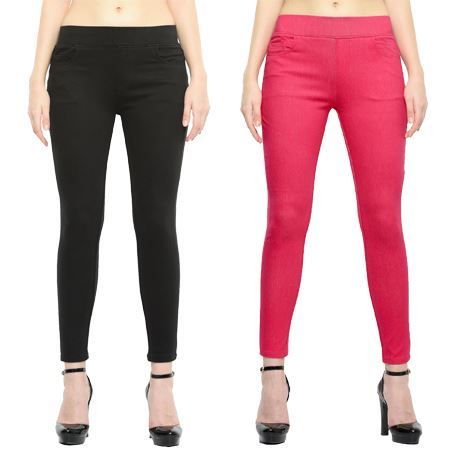 Picture for category Pullon Jeggings with Front and Back Pocket