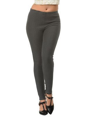 Black-Grey Winter Jeggings