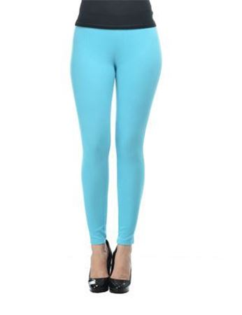 sky blue ankle jeggings