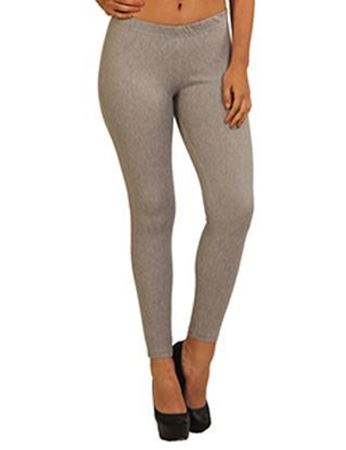 GREY ANKLE JEGGINGS