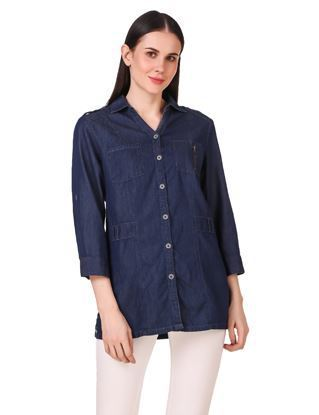 Denim Indigo Kora Shirt