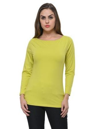 frenchtrendz-boat-neck-cotton-spandex-lime-top