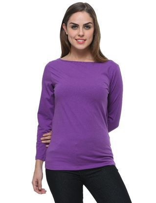 frenchtrendz-boat-neck-cotton-spandex-light-purple-top