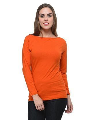 frenchtrendz-boat-neck-cotton-spandex-rust-top