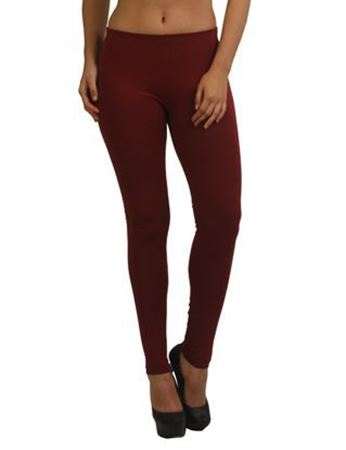 Plum Winter Ankle Legging