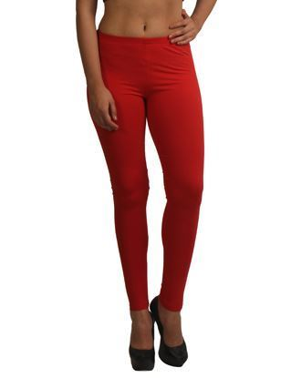 Red Winter Ankle Legging