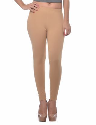 Dark Beige Winter Ankle Legging