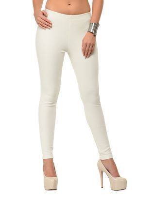 Ivory Dyeable Jeggings