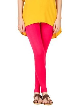 Pink Churidar Leggings