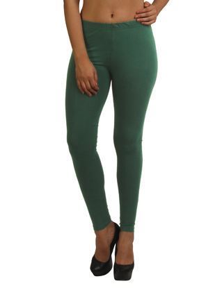 Dark Green Ankle Leggings