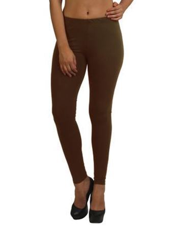 Dark Choco Ankle Leggings
