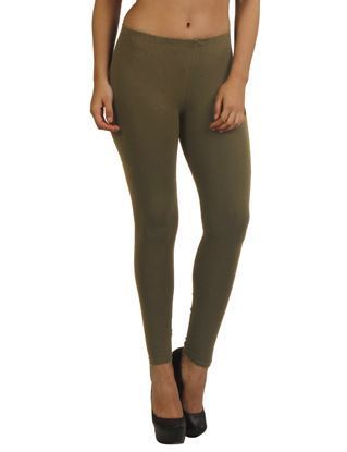 Olive Ankle Leggings