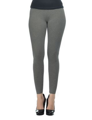 Grey Ankle Leggings