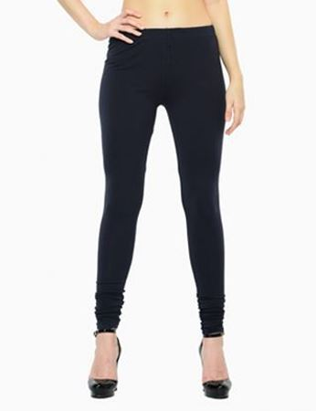 Navy Churidar Leggings